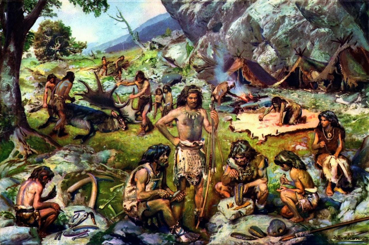 Storia della caccia: preistoria