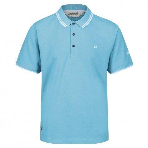 Polo Azzurra Talcott Cotone