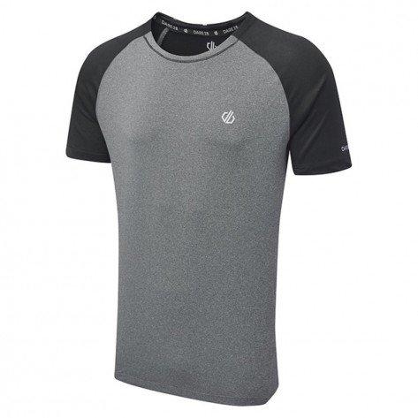 T-Shirt Grigio/Nero Peerless