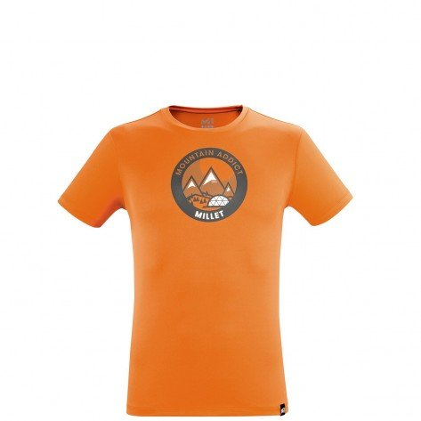 T-Shirt Dream Peak Arancio