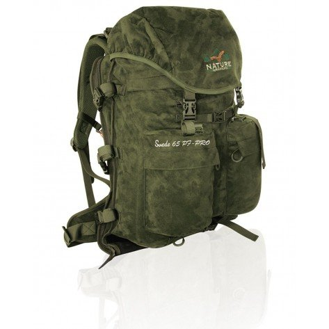 Zaino Microsuede Verde Pf 65 Lt