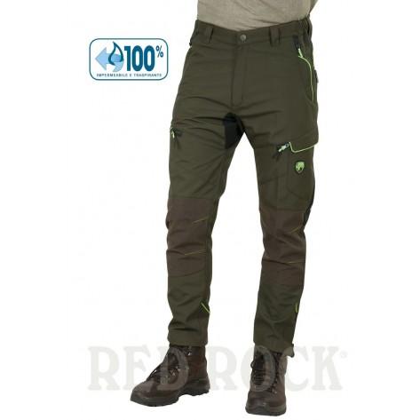 Pantalone Winter Endurance Univers-Tex Verde/Fluo
