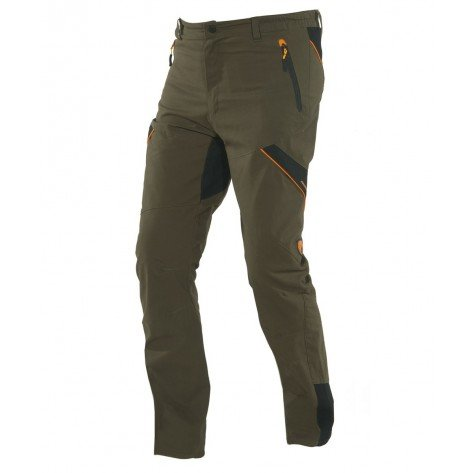 Pantalone Ortles In Canvas Idrorepellente Verde