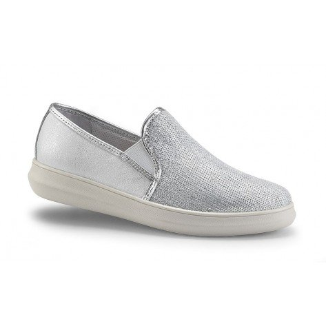 Scarpa Pantofola Donna Argento