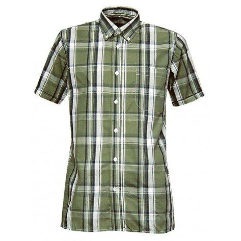 Camicia M/M Quadro Verde Luciole