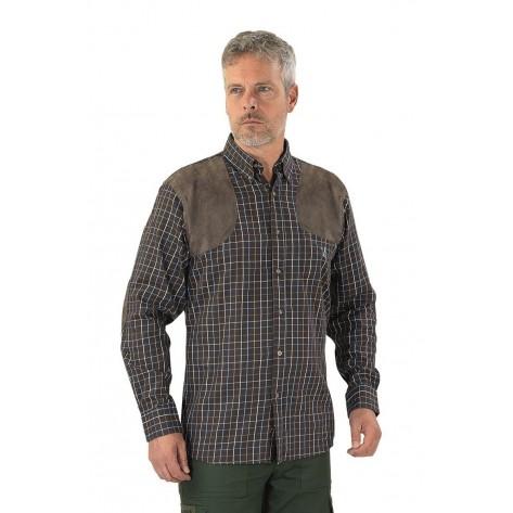 Camicia Sologne Marrone