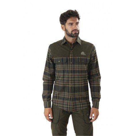 Camicia Flanella Scozzese Rinforzo Suede