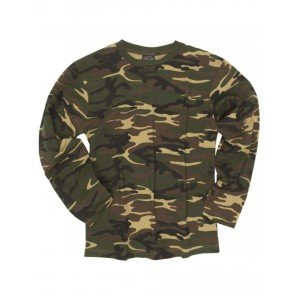 T-Shirt M/Lunga Mimetica