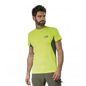 T-Shirt Tecnica Ambit Lime Manica Corta