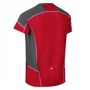 T-Shirt Rosso/Grigio Camito