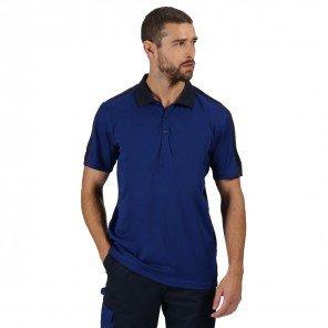 Polo Contrast Bicolore Royal/Blu