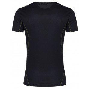 T-Shirt Tecnica Ambit Nera Manica Corta