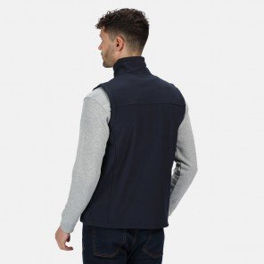 Gilet Flux Soft Shell Blu