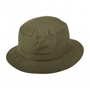 Cappello Bucket Nylon Idrorepellente Oliva