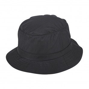 Cappello Bucket Nylon Idrorepellente Nero