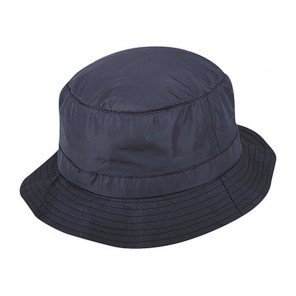 Cappello Bucket Nylon Idrorepellente Blu