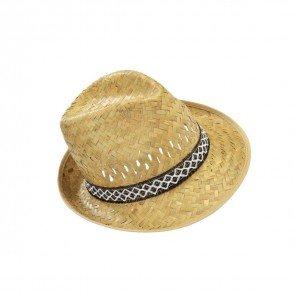Cappello Uomo Palma Traforato 100% Paglia