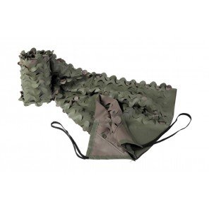 Telo Fogliato Mimetico Verde Marrone Mt 1,5x5