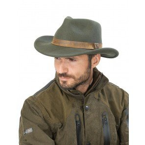 Cappello Verde Woolchap