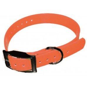 Ricambio Collare Elettronico Biothane Arancio 65x1,9