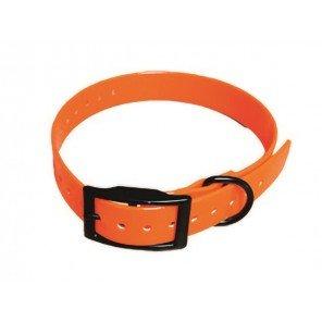 Ricambio Collare Elettronico Biothane Arancio 65x2,5