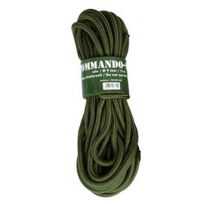 Corda Nylon Verde 7 Mm X 15 Mt