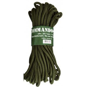 CORDA NYLON VERDE 5 MM X 15 MT