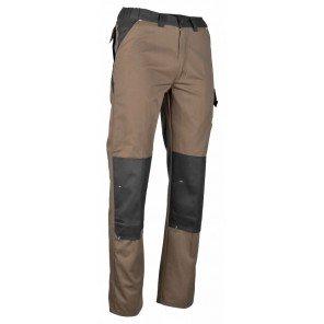Pantalone Da Lavoro Castagno/Grigio Fergeron