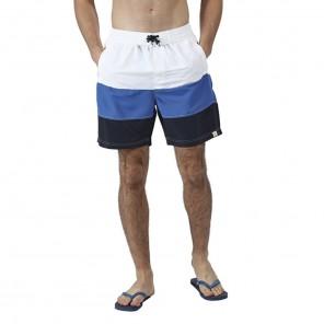 Bermuda Shorts Bianco/Blu/Azzurro