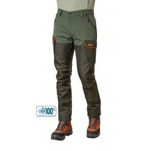 Pantalone Softshell Con Inserti Cordura Verde