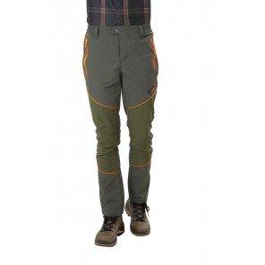 Pantalone Glacier Verde Profili Arancio