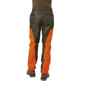 Pantalone Attila Impermeabile e Rinforzato Arancio/Nero