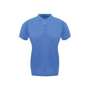 Polo Donna Classic Azzurra