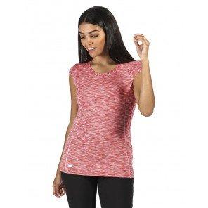 T-Shirt Hyperdimension Rosso Melange