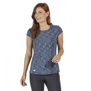 T-shirt Hyperdimension Blu Denim Melange