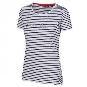 T-Shirt Rigata Blu Olwyn