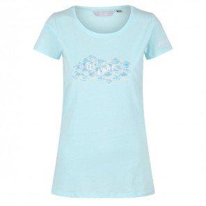 T-Shirt Acqua Breezed Con Stampa