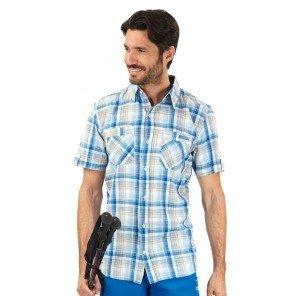 Camicia Abbot M/M Quadro Azzurro