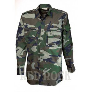 Camicia Manica Lunga Woodland