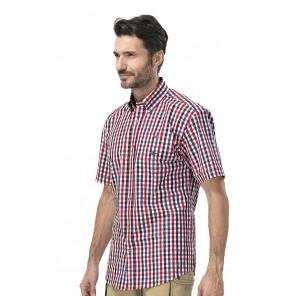 Camicia M/M Quadro Rosso Ado