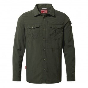 Camicia Travel Adventure Craghoppers Verde
