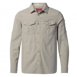 Camicia Travel Adventure Craghoppers Beige