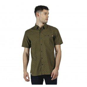 Camicia Verde Mezza Manica