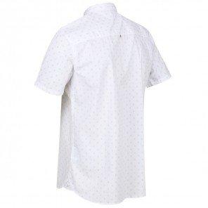 Camicia Mezza Manica Bianca Dalziel
