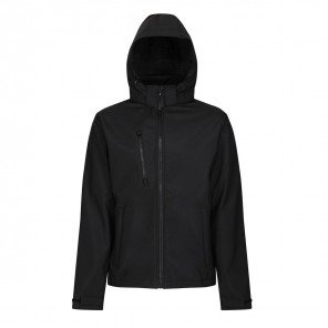 Giacca Ventures Soft Shell Impermeabile Nero