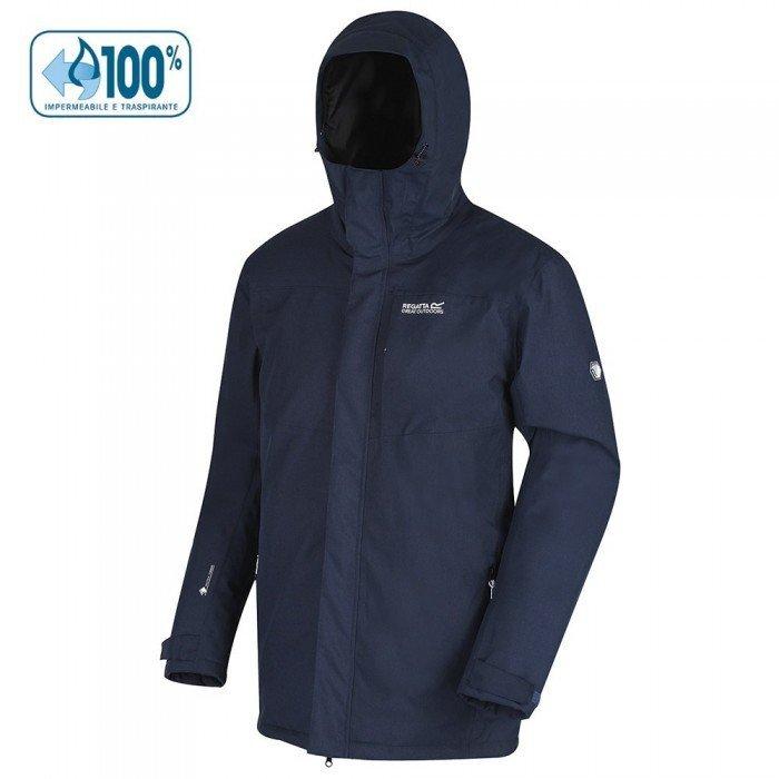 abbigliamento trekking sulla neve giacca