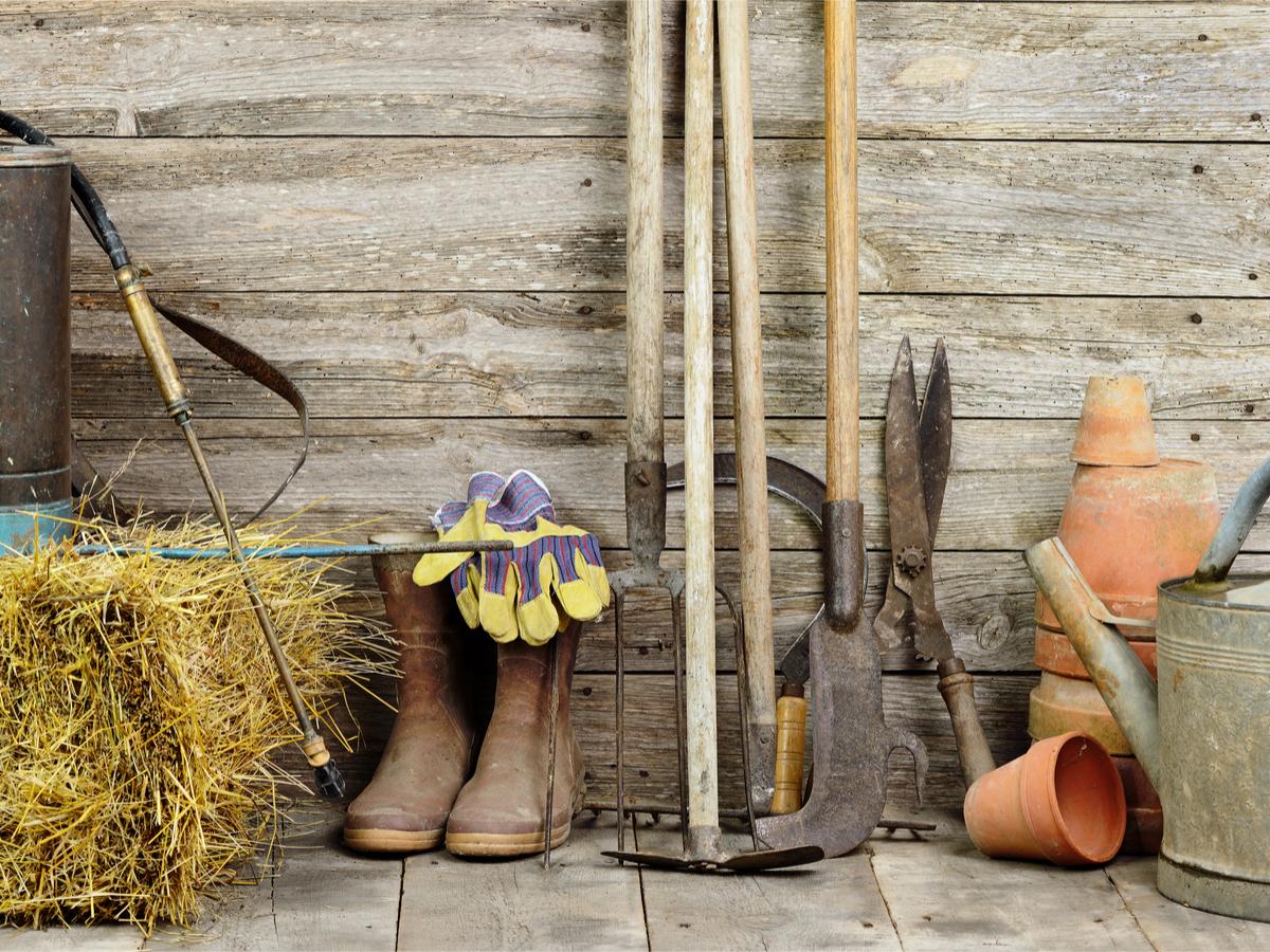 attrezzatura giardinaggio